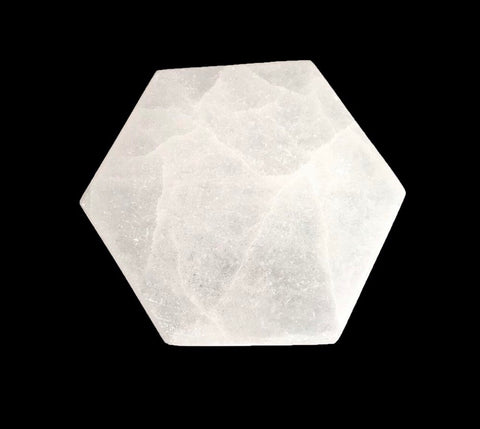 Hexagon Selenite Charging Plate