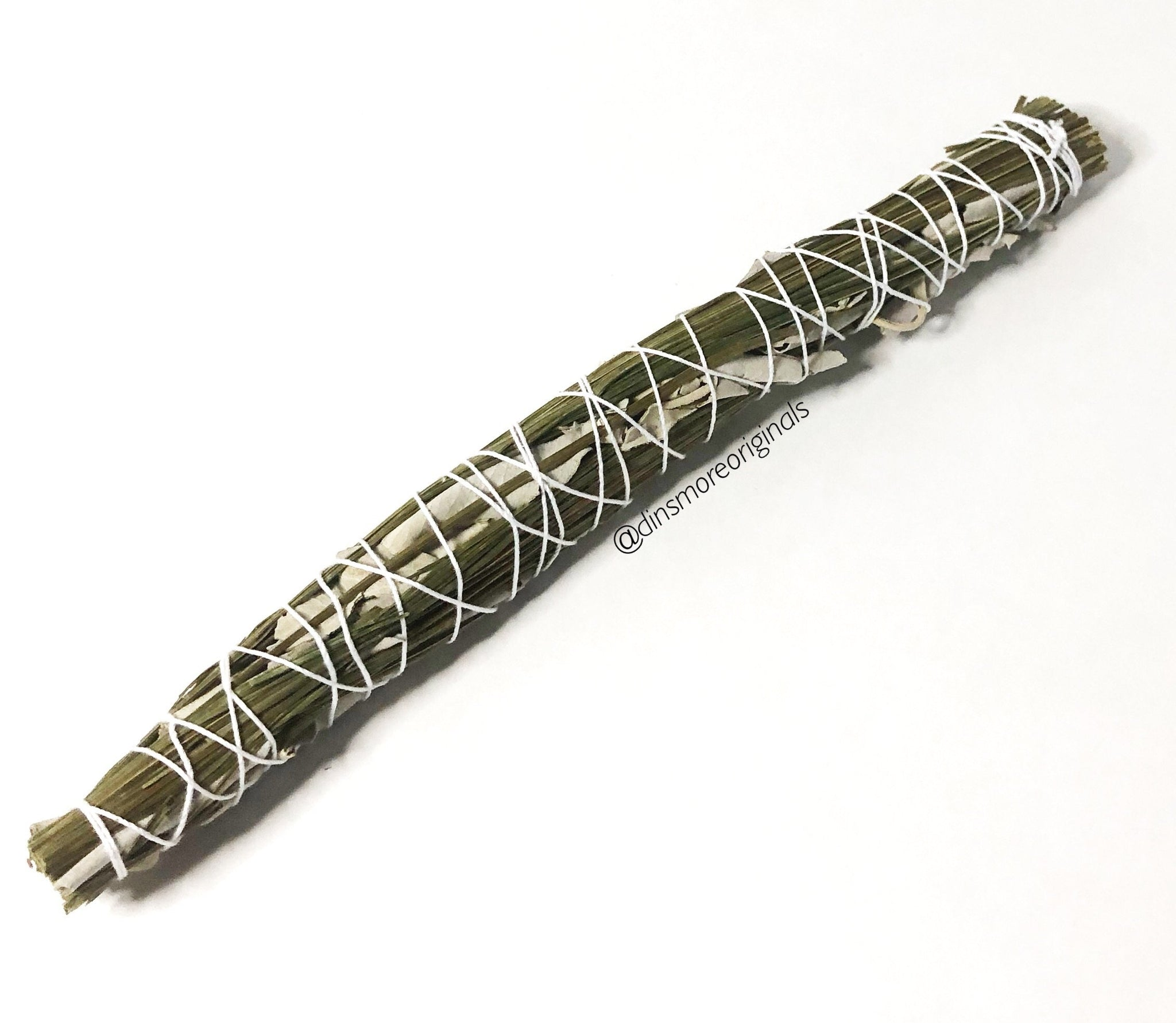 Sweetgrass And White Sage Smudge Wand