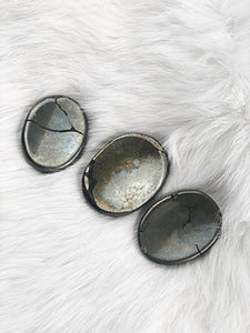 Pyrite Worry Stone | Dinsmore Originals - metaphysical jewelry, spiritual cleansing supplies, genuine healing crystals