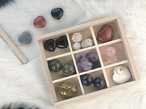 Serenity Gift Box | Dinsmore Originals - metaphysical jewelry, spiritual cleansing supplies, genuine healing crystals