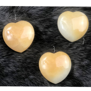 Calcite Puffy Heart | Dinsmore Originals - metaphysical jewelry, spiritual cleansing supplies, genuine healing crystals