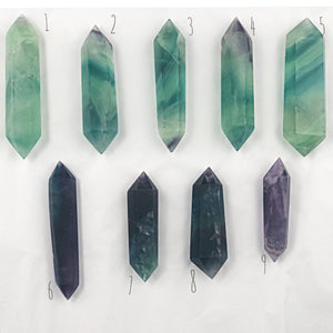 Double Terminated Fluorite Wand (lot 2) | Dinsmore Originals - metaphysical jewelry, spiritual cleansing supplies, genuine healing crystals
