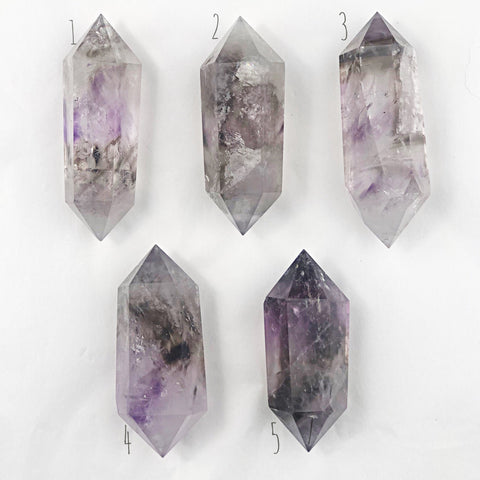 Elestial Amethyst Double Terminated Wand | Dinsmore Originals - metaphysical jewelry, spiritual cleansing supplies, genuine healing crystals