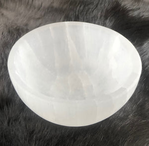 "4"" Selenite Charging Bowl 
