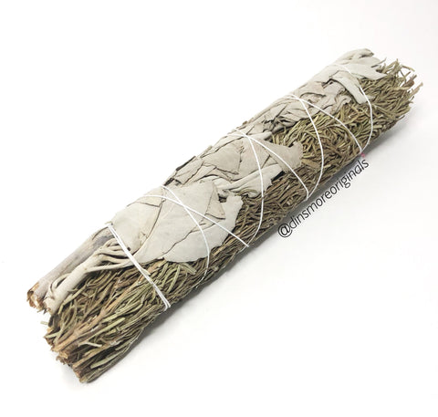 California White Sage And Rosemary Smudge Wand