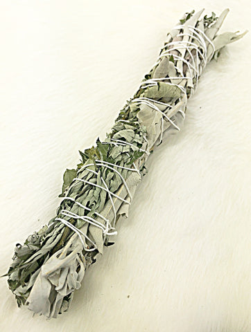 Mugwort & White Sage Smudge Wand