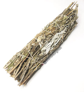 "8""-9"" California White Sage & Lavender Smudge Wand"