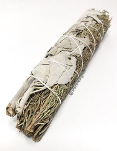 "8""-9"" California White Sage & Rosemary Smudge Wand"
