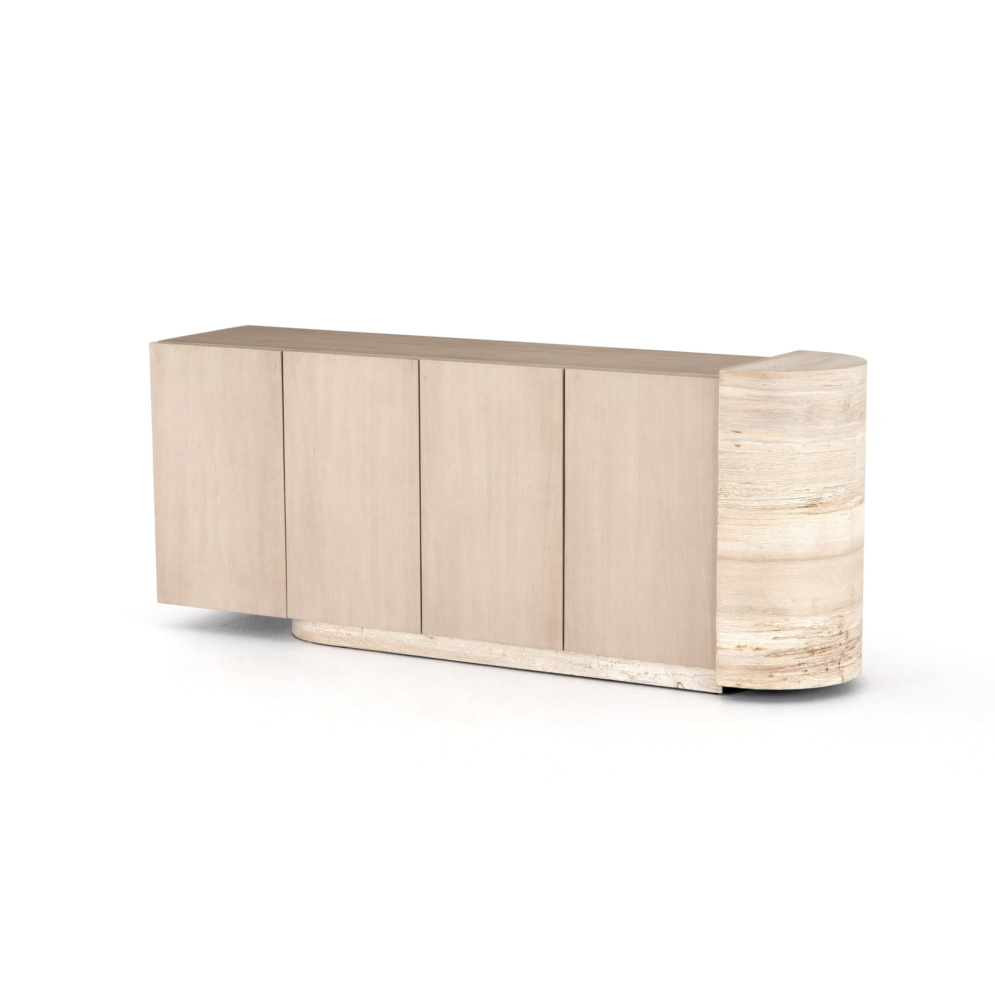 Organic Sideboard Pale Oak