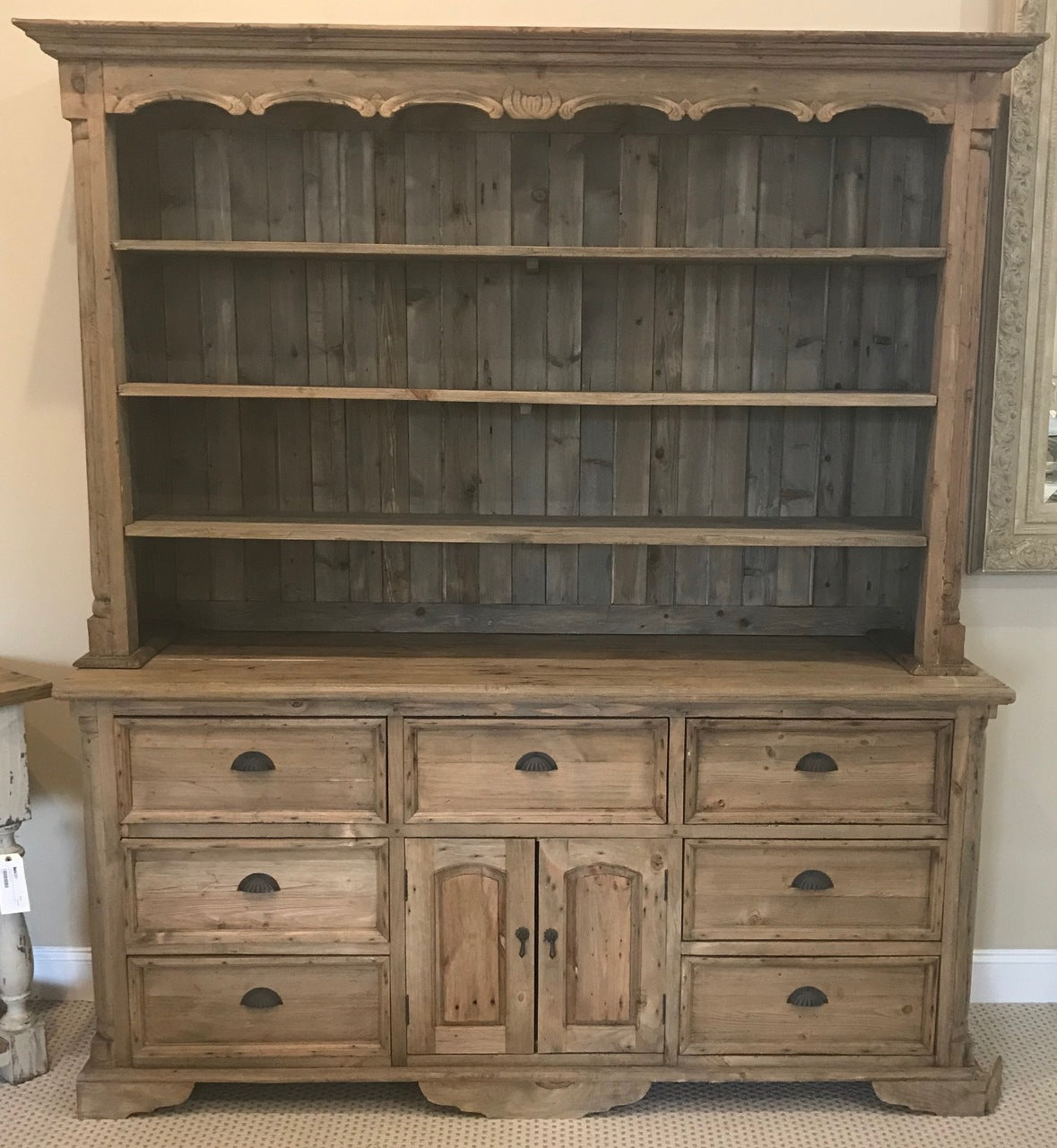 Farmhouse Buffet and Hutch Natural
