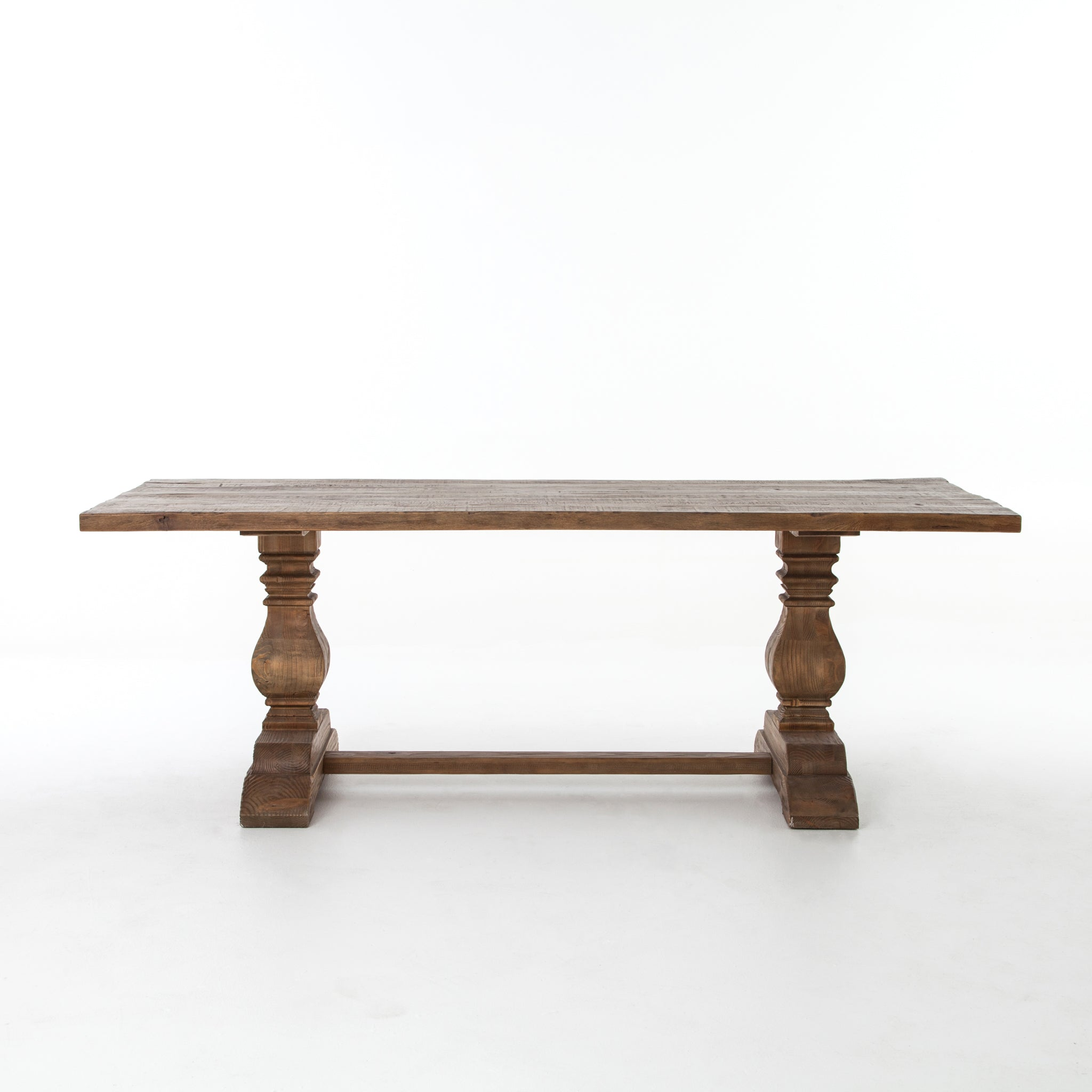 Trestle Rectangular Dining Table 87""