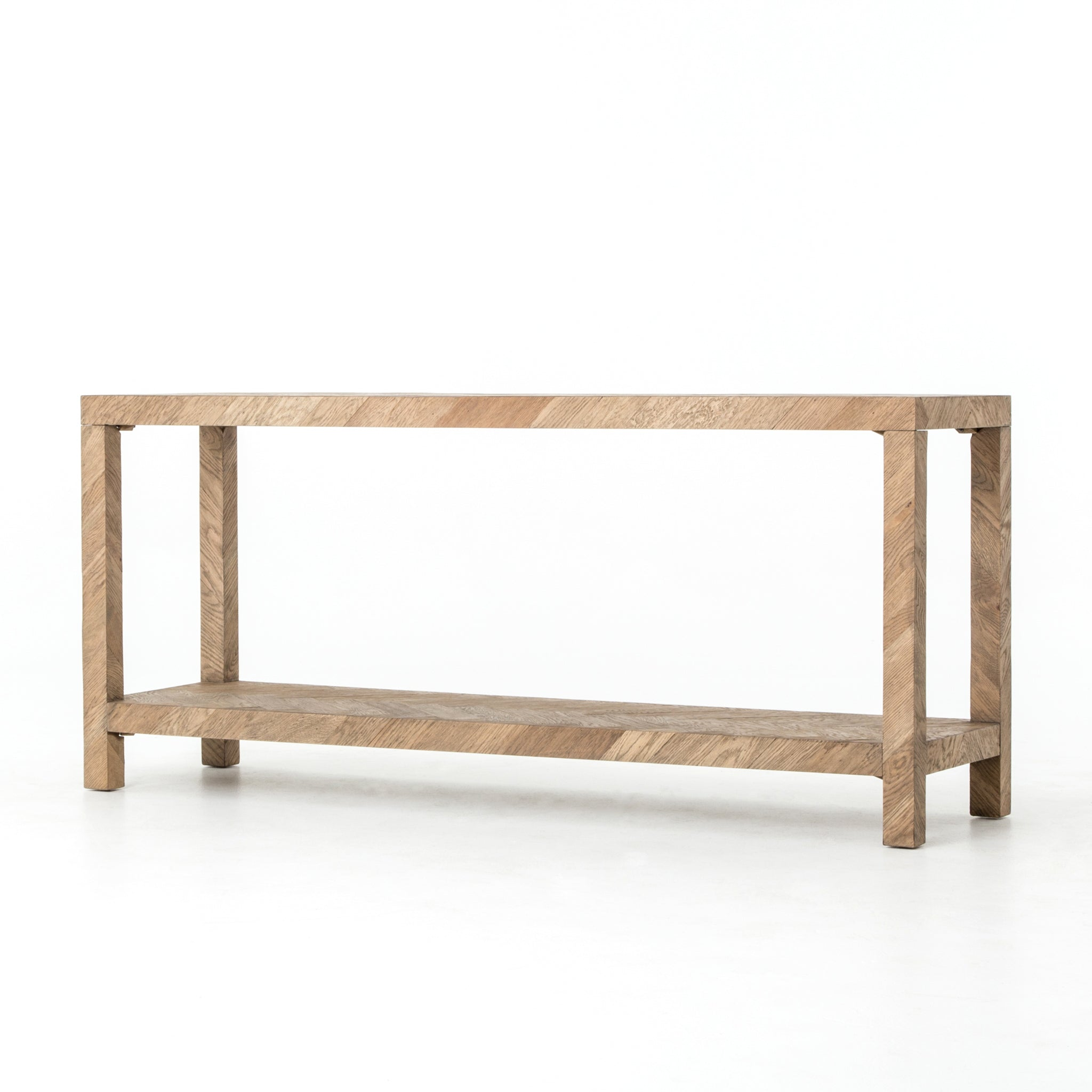 Simple Farmhouse Parsons Console Table - Furniture on Main