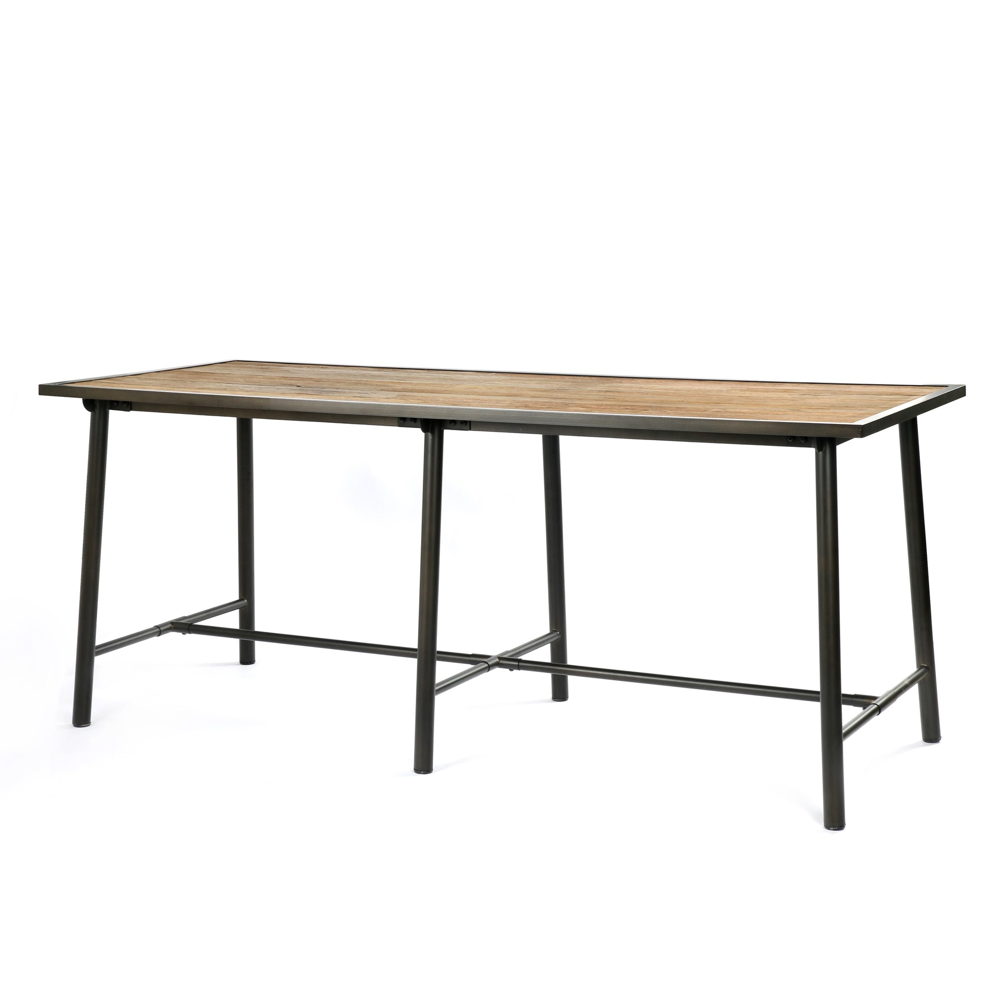 Bar Height Iron & Wood Dining Table - Furniture on Main