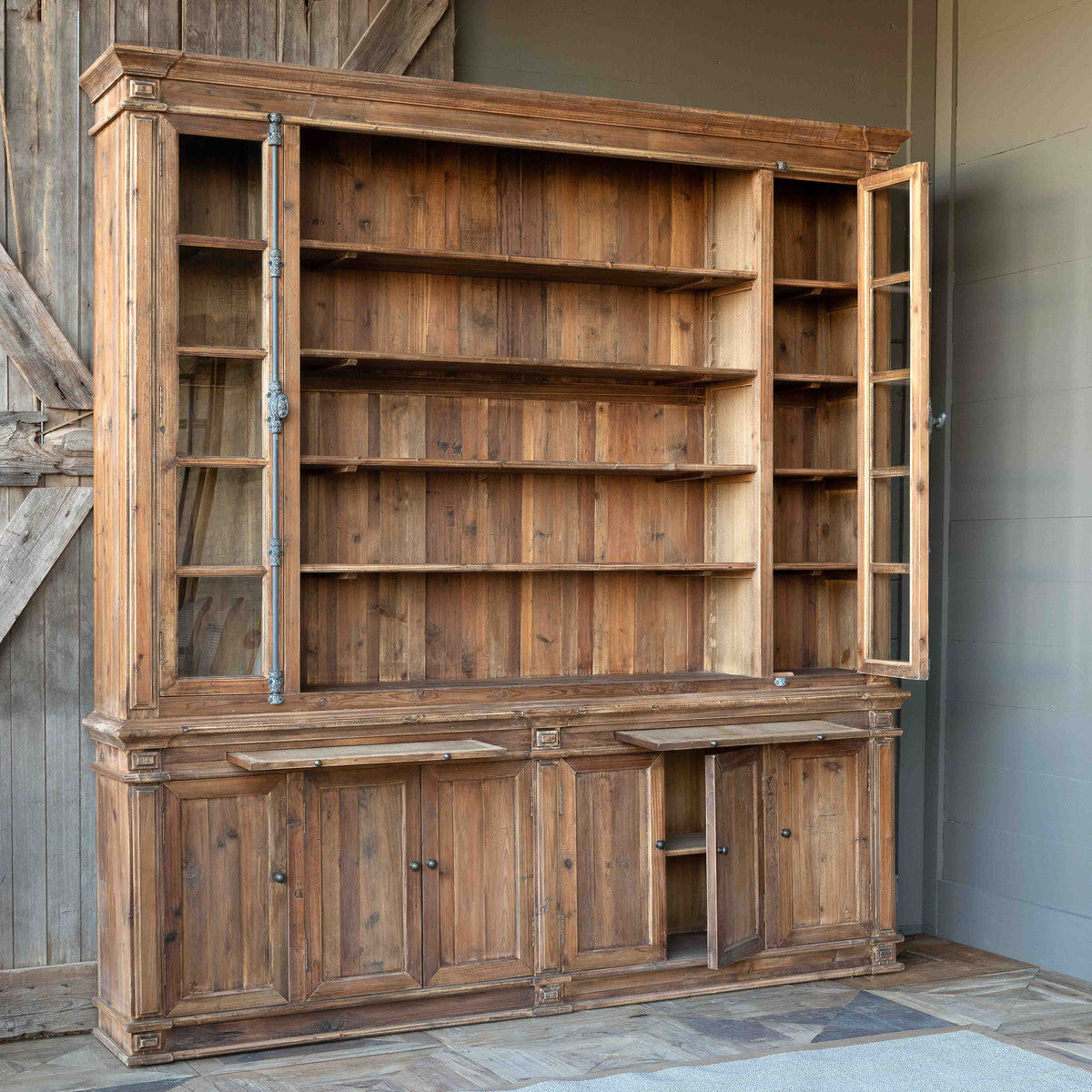 Open Shelving Display Cabinet - Store Display