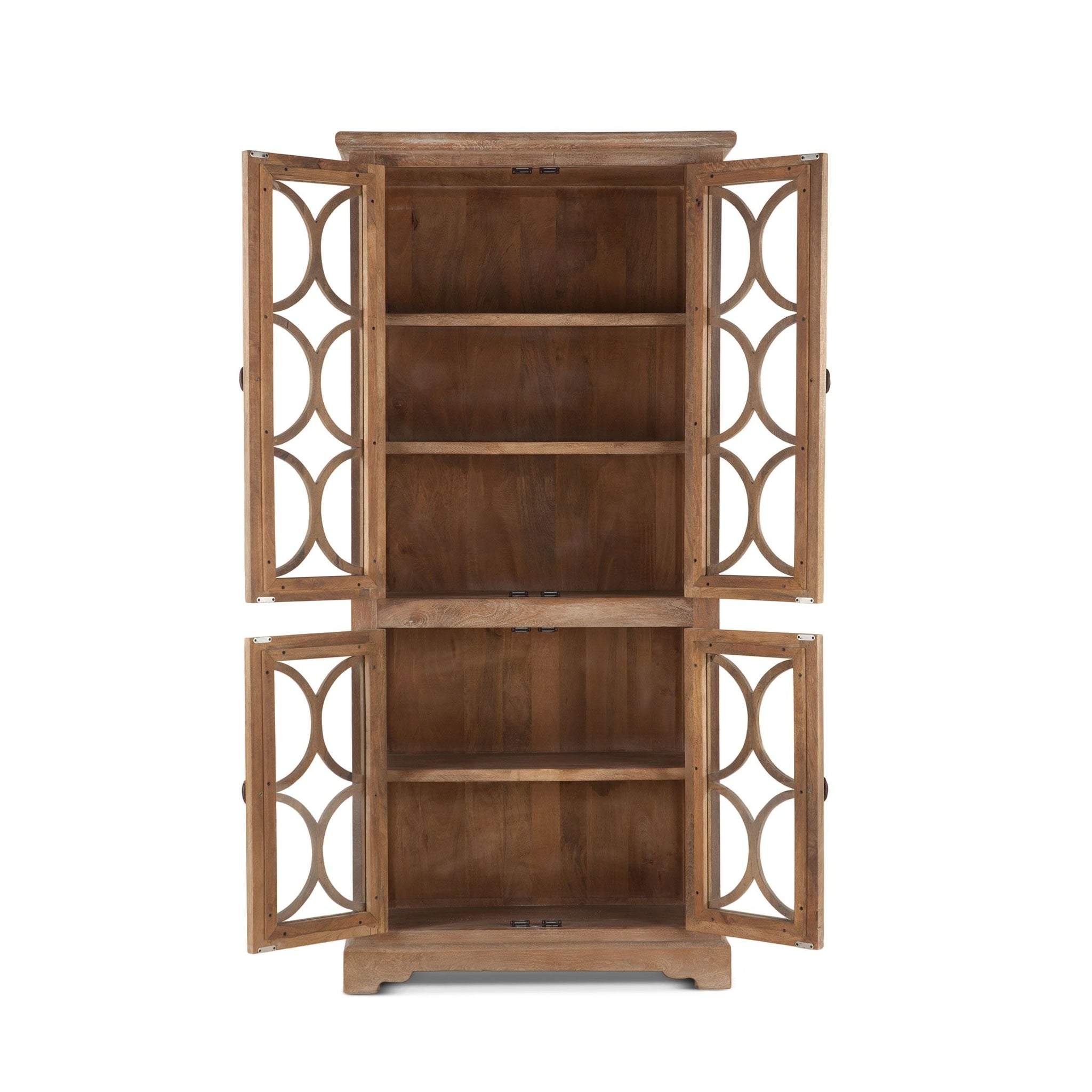 Coastal Charm Tall Display Cabinet