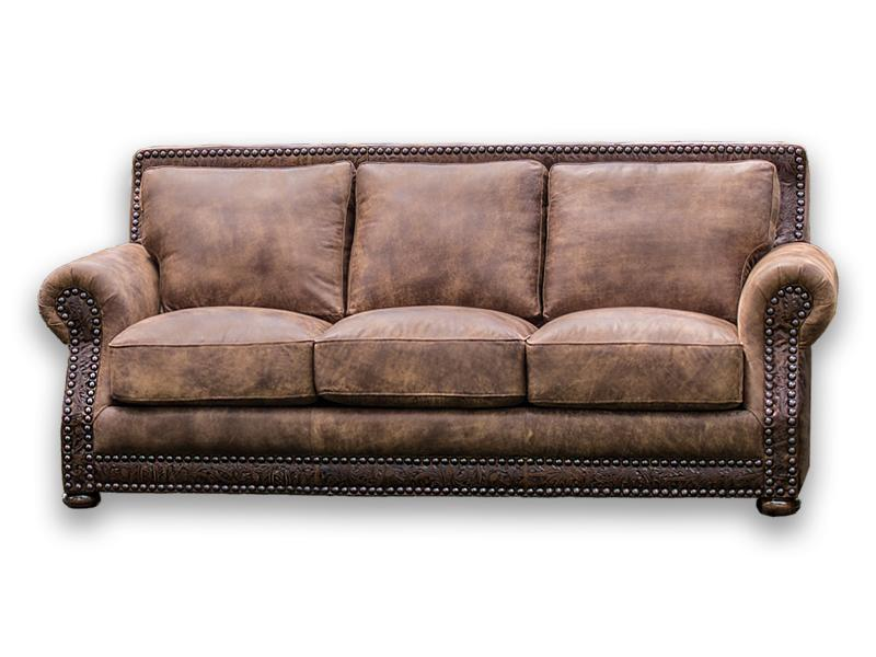 Hamilton Leather Sofa Stallone & Cosmo