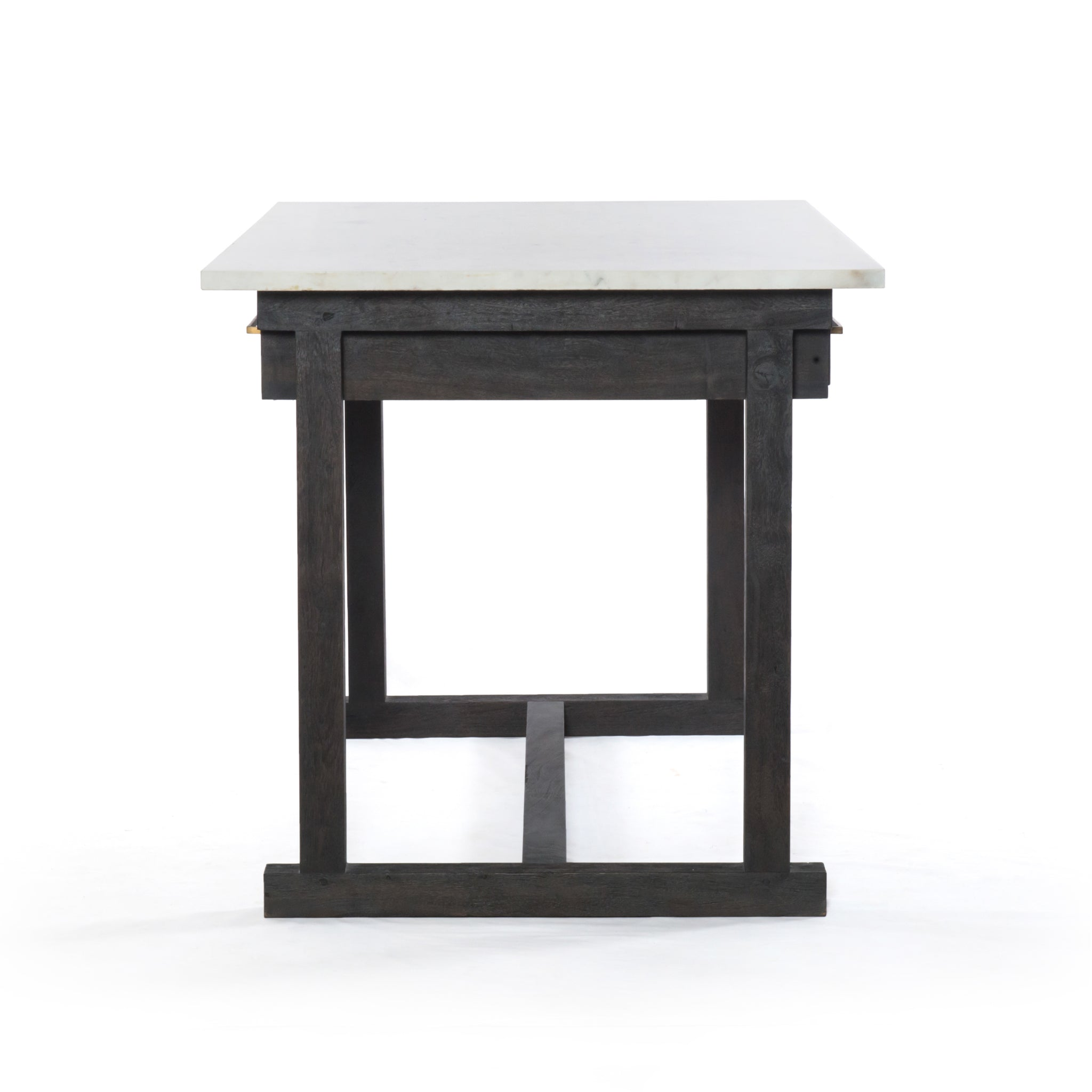 Counter Height Marble Top Dining Table - Furniture on Main