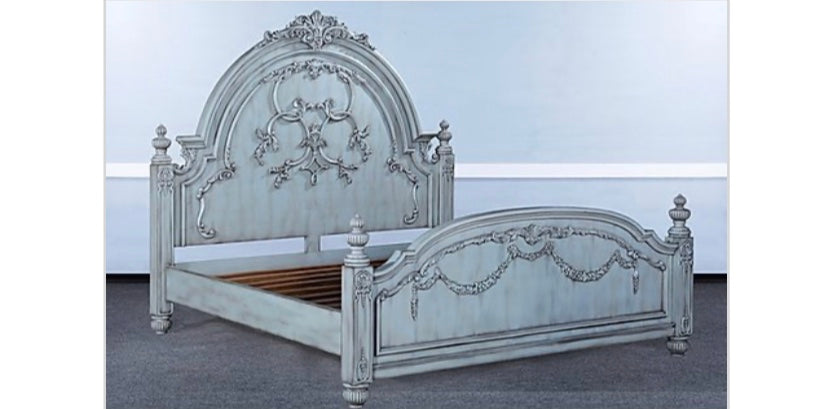 Old World Classic King Bed