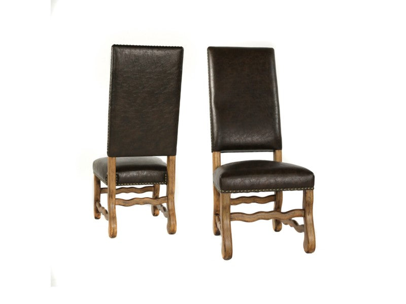 Ann Primo Side Dining Chair Set of 6 Earth