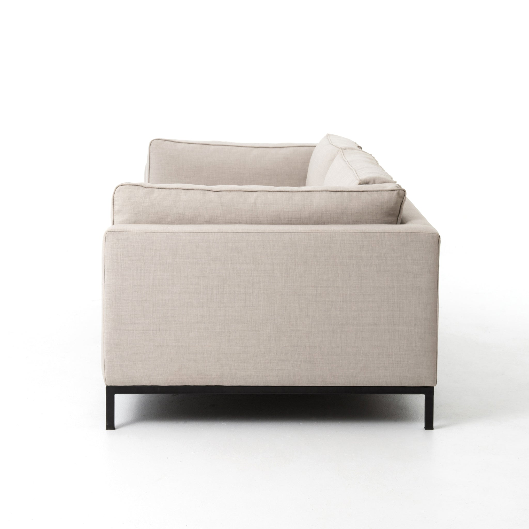 Clean Simple Lines Sofa Bennett Moon - Furniture on Main