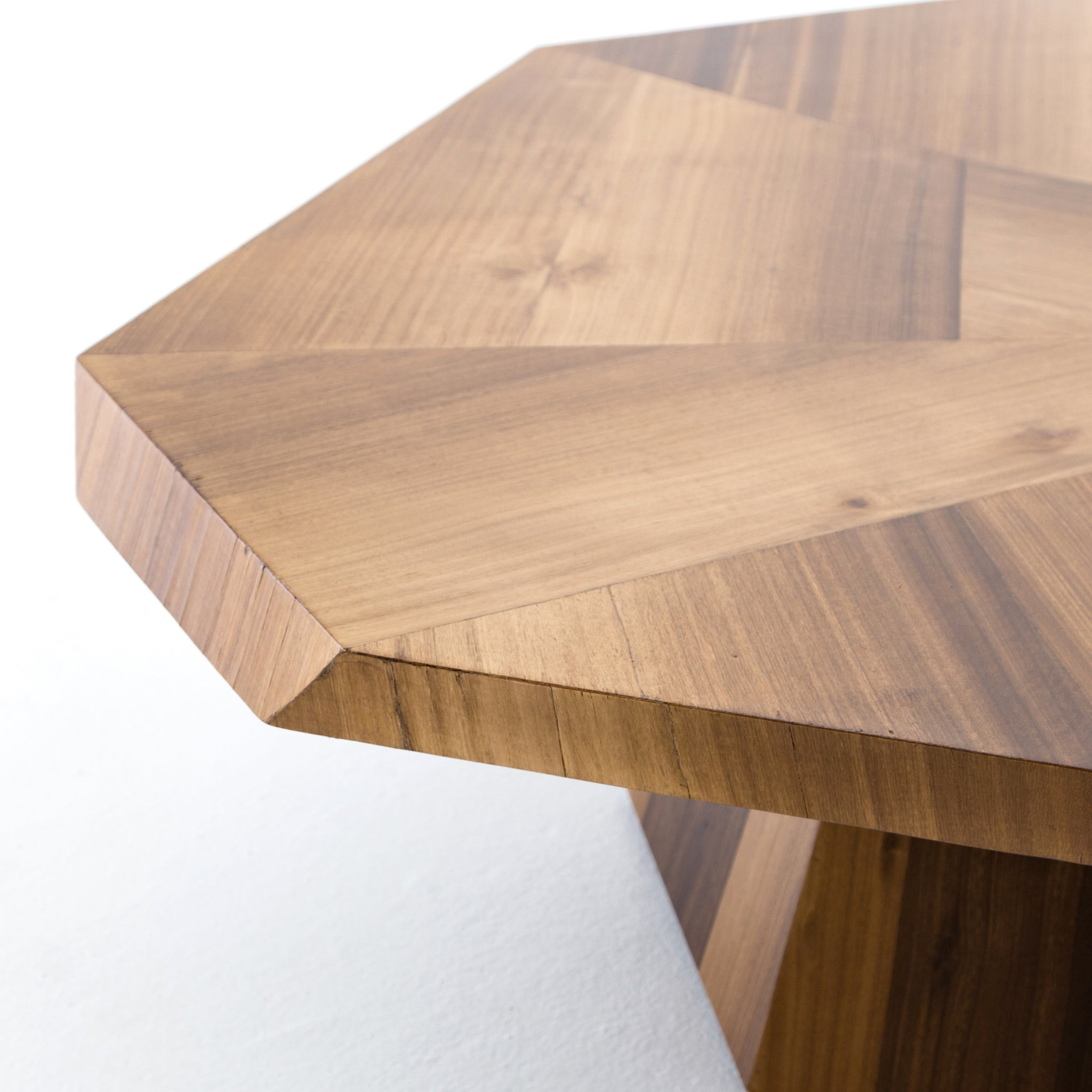 Yuka Wood Top Cocktail Table - Furniture on Main