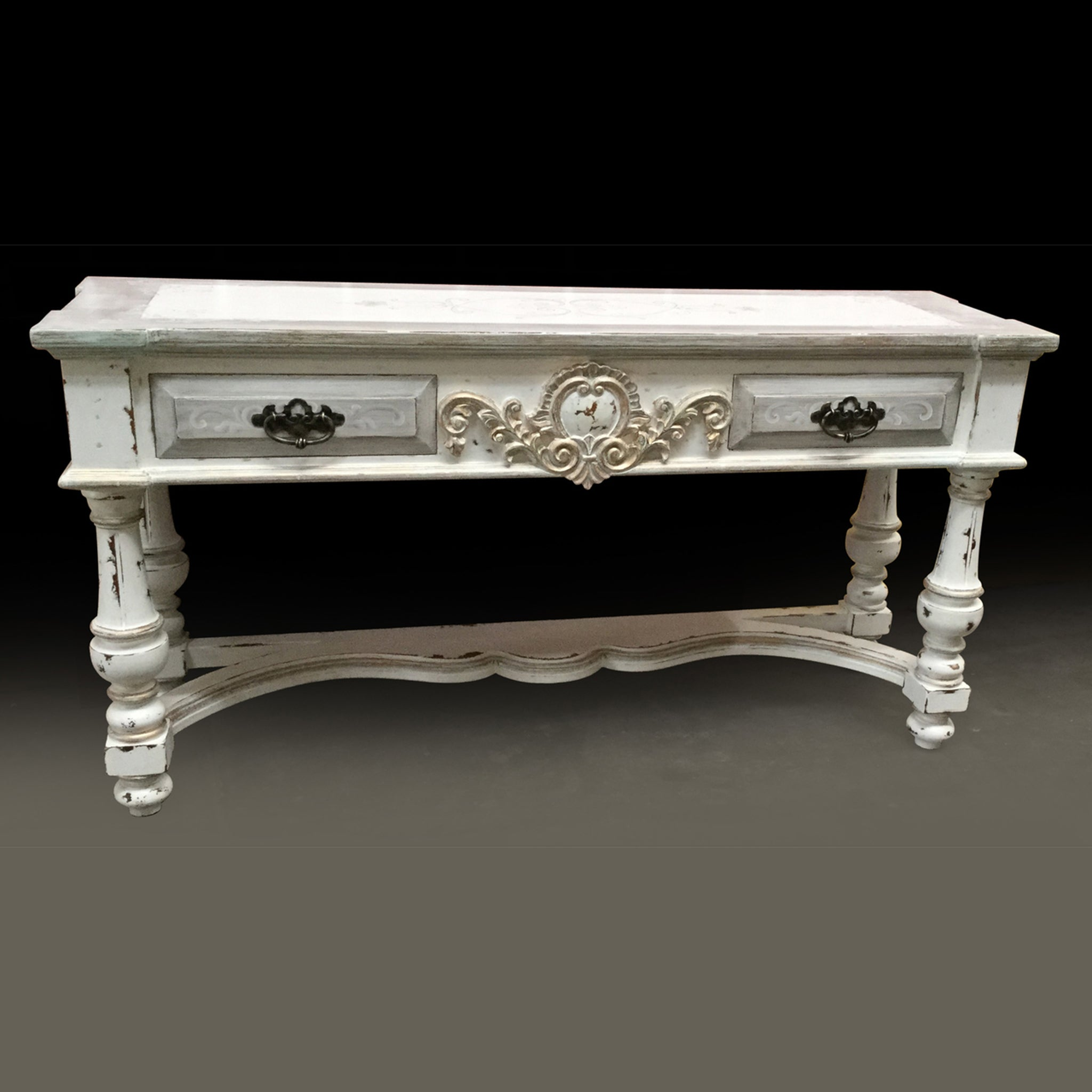 Cabo Hand Painted Console Table - Furniture on Main