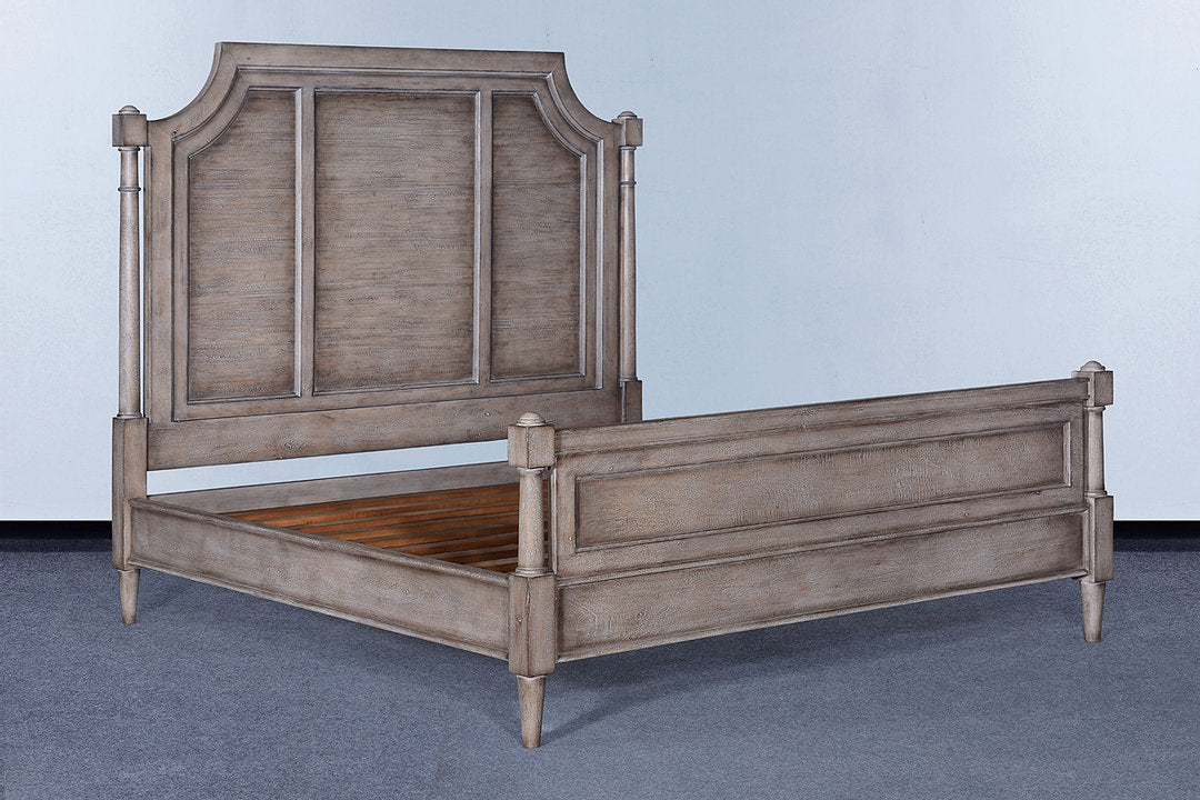 Mansion Greige King Bed