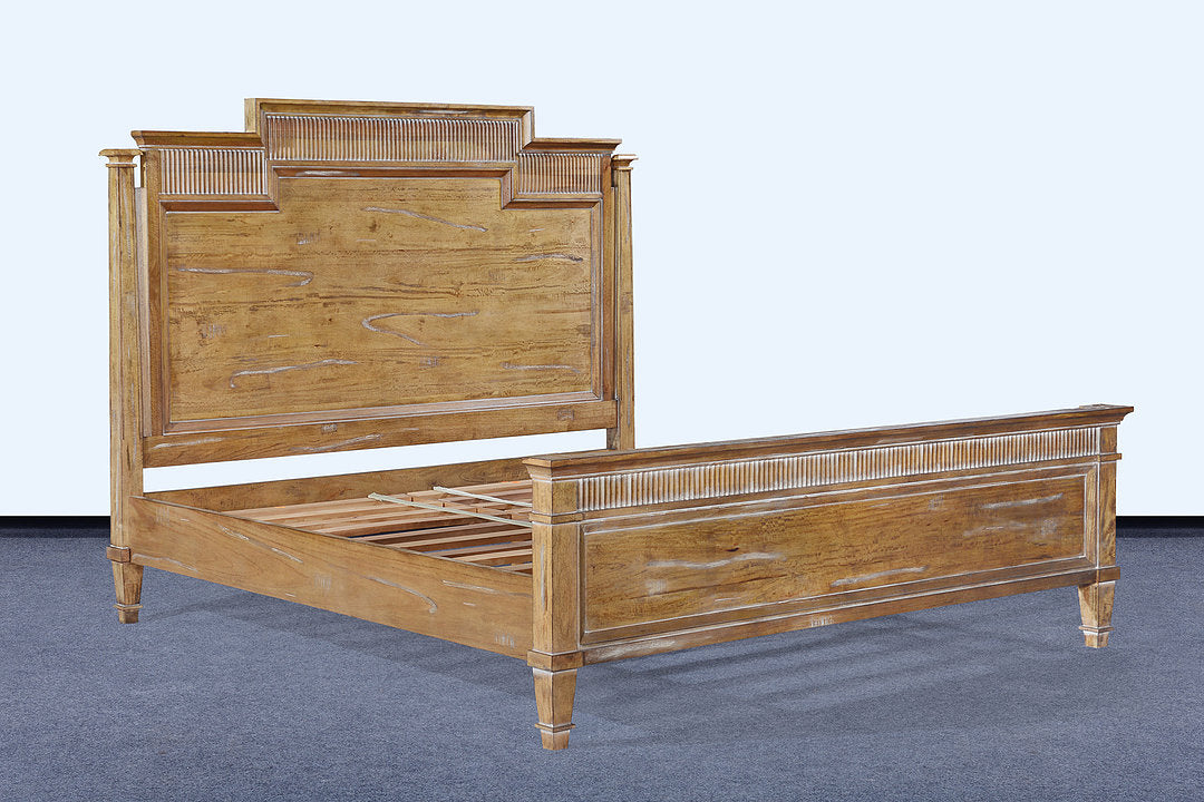 Windsor King Bed Beachwood