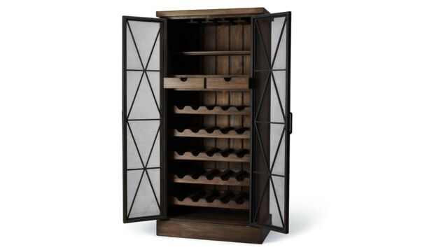 Dante Wine Cabinet Storage - Furniture on Main