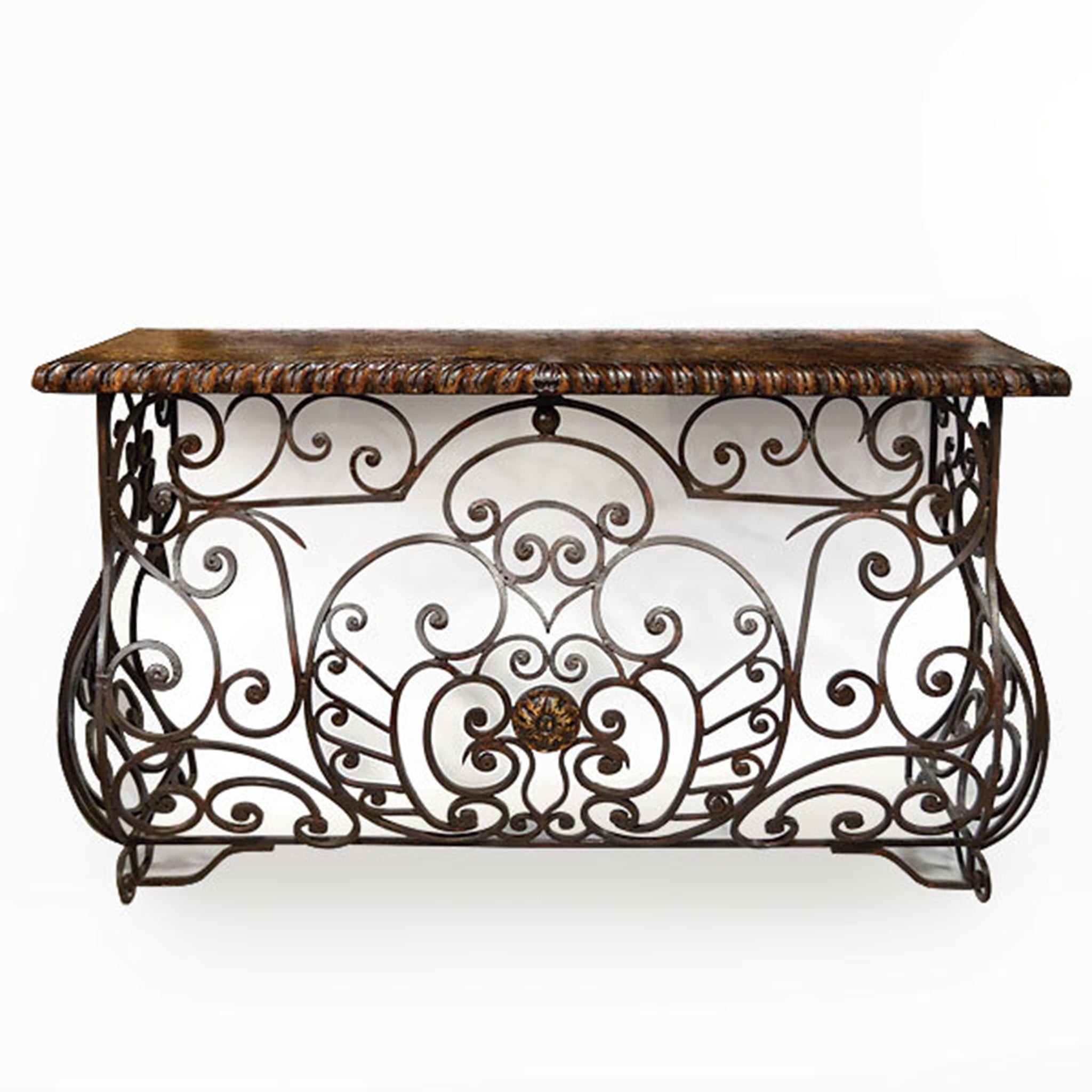 Forged Iron Console Table - Furniture on Main