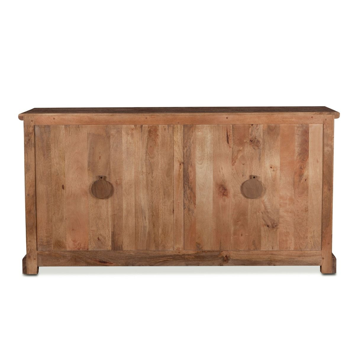 Coastal Charm Wood Display Buffet