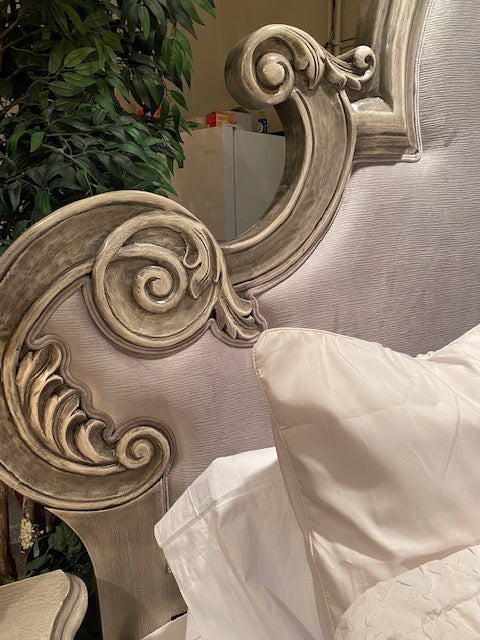 Carman Hand Carved King Bed