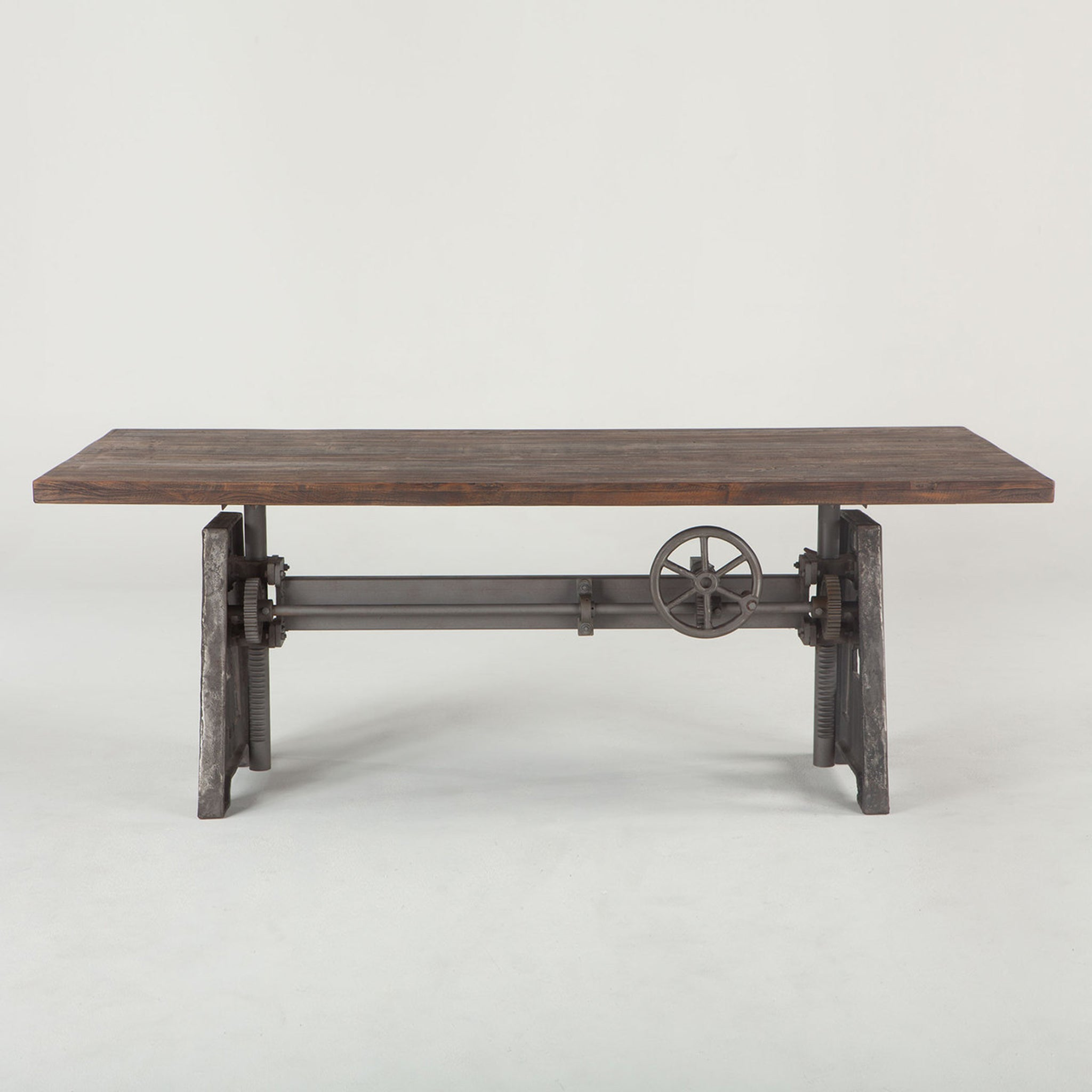 Industrial Loft Wood Dining Table 83""