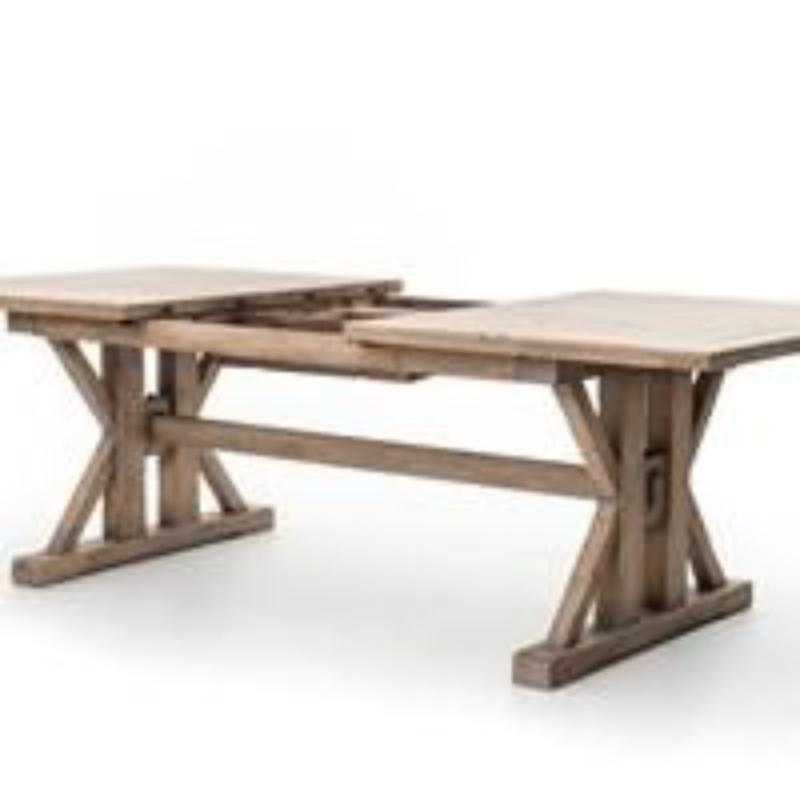 Italian Farmhouse Dining Extension Table - Furniture on Main