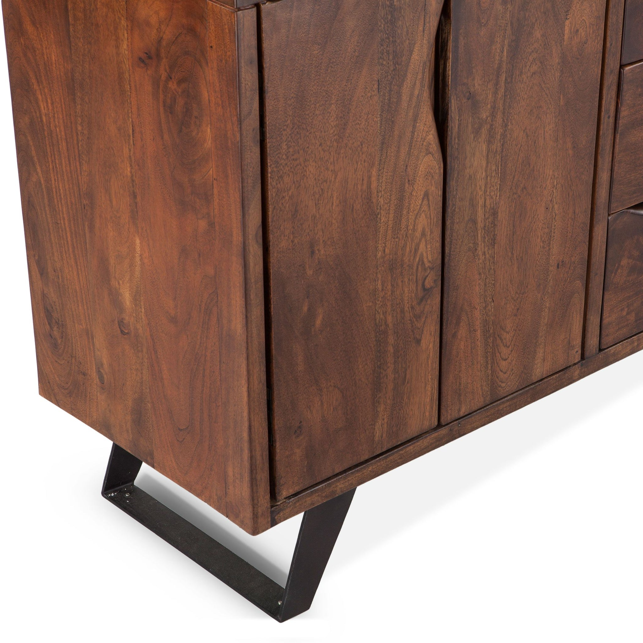 Reclaimed Iron and Wood Sideboard - Furniture on Main