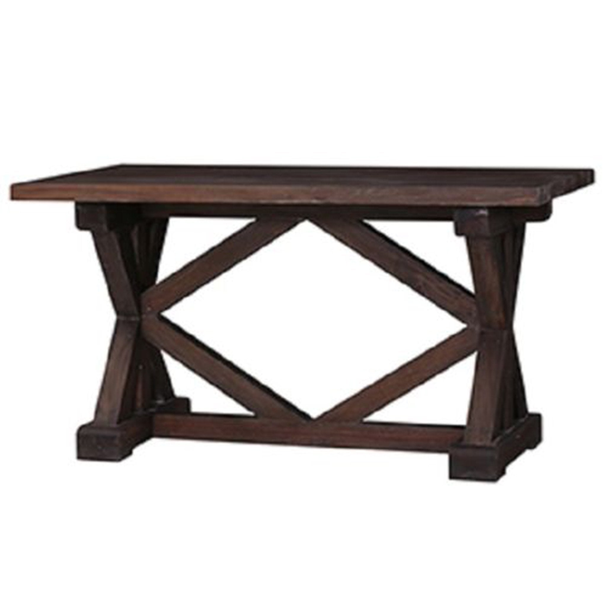 Riverwalk Counter Height Dining Table Cocoa Finish Rustic - Furniture on Main