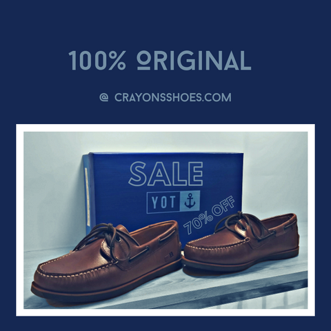 Brosse Boat Shoes - Original Yot
