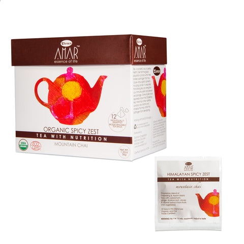 AMAR ORGANIC SPICY ZEST Mountain Chai