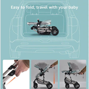 3 in 1 Baby Stroller Travel System