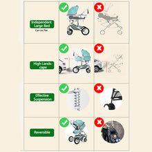 Load image into Gallery viewer, 3 in 1 Baby Stroller Travel System