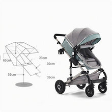 Load image into Gallery viewer, 3 in 1 Stroller With Car Seat Baby Travel System
