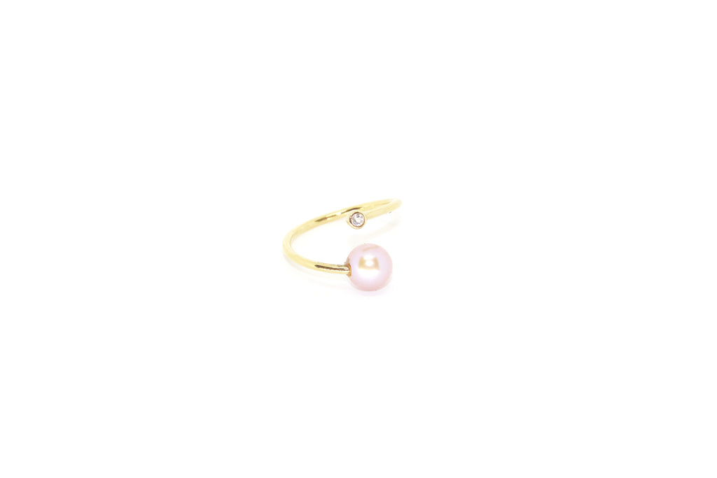 Antibes Ring w. Freshwater Pearl