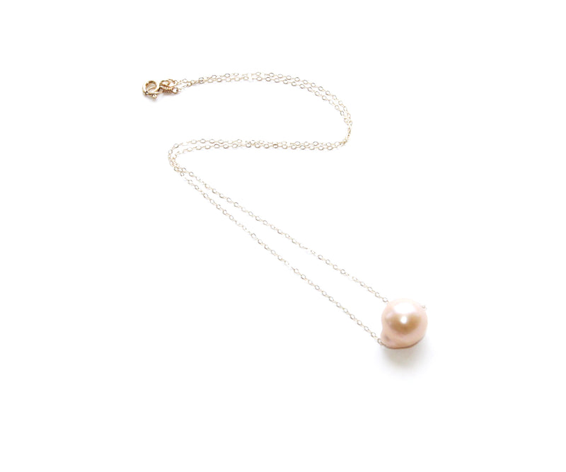 Maria Necklace w. Freshwater Pearl
