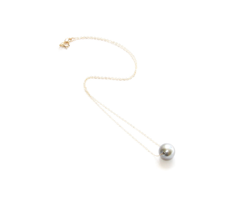 Maria Necklace w. Tahitian Pearl