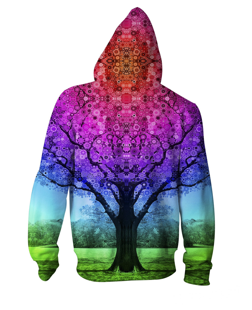 Tree Zip-Up Hoodie - AsitiGift