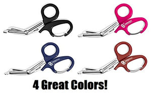 Stainless Steel Shears with Carabiner Cutting Bandages - AsitiGift