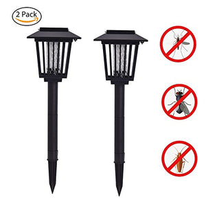Garden Lawn Lamp Electronic Insects Mosquito Killer Waterproof - AsitiGift
