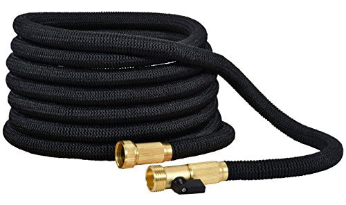 Flexible and Expandable Water Garden Hose 50 Feet with Double Latex Core - AsitiGift