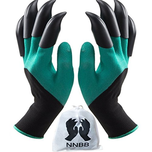 Garden Gloves with Fingertips Claws Quick– Great for Digging - AsitiGift