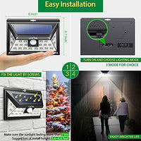 Wireless 24 LED Motion Sensor Solar Lights with Wide Lighting Area - AsitiGift